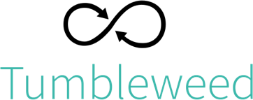 Logotipo do openSUSE Tumbleweed