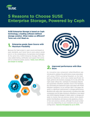 5 Reasons to Choose SUSE Enterprise Storage, Powered by Ceph