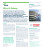 Success Story: Bosch Group