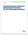 Evaluating Software-Defined Infrastructure Providers for Your SAP Implementation