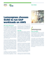 Lemongrass chooses SUSE to run SAP workloads on AWS