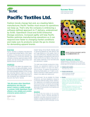 Success Story: Pacific Textiles Ltd.