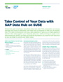 Take Control of Your Data with SAP Data Hub on SUSE