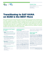Transitioning to SAP HANA on SUSE is the Smart Move