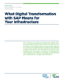 What Digital Transformation with SAP Means for Your Infrastructure