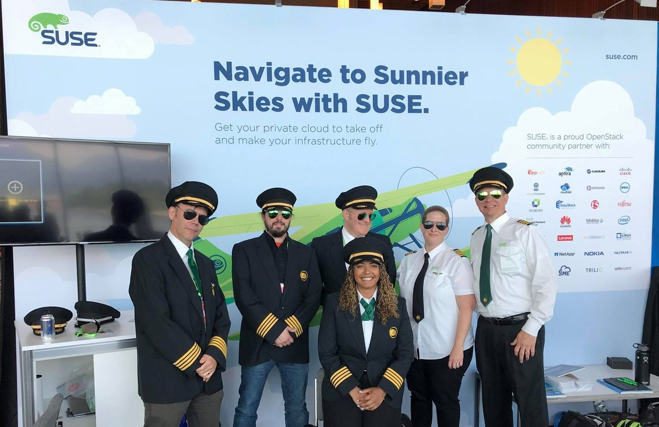 The SUSE Flight Crew at the OpenStack Summit - SUSE Communities