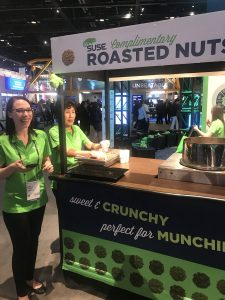 Roasted nut counter