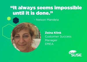 Zeina Kilink, Customer Success Manager, Global Services