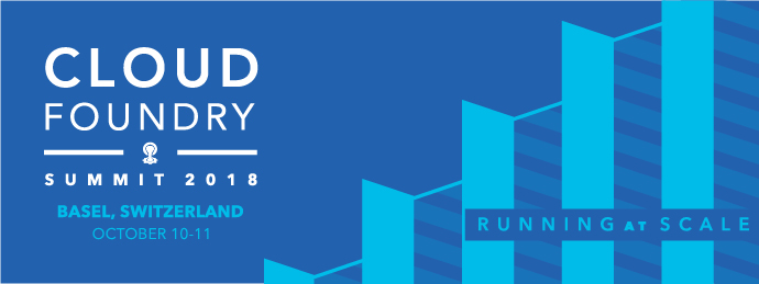 Cloud Foundry Summit Europe 2018