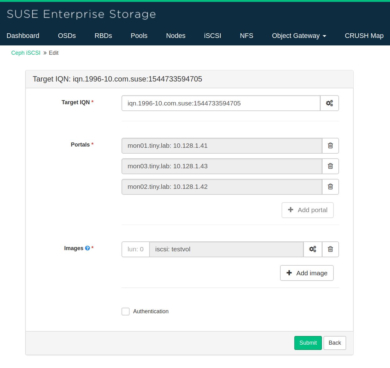 SUSE Enterprise Storage openATTIC