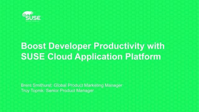 Boost Developer Productivity