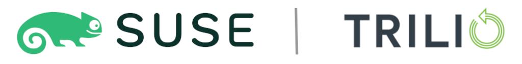 SUSE   Trilio logo