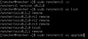 RancherOS v0.2 Upgrade
